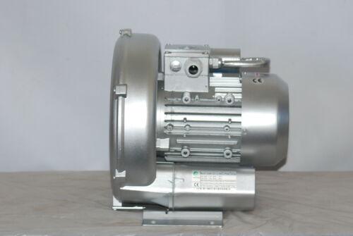 """soplador de canal lateral 220V 1Ph Soplador de regenerativa 2.0HP 103CFM 76/""""H2O Max Press"""