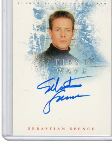 First Wave A1 Sebastian Spence auto card