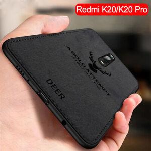 Per-Xiaomi-9-9T-Pro-Mi-Lite-Custodia-in-tessuto-stoffa-SE-IN-PELLE-MORBIDA-IN-SILICONE-TPU-Custodia