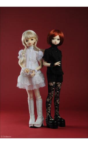 "Salang Lace Blouse Dollmore 17/"" 1//4 BJD doll clothes outfits  MSD Black"