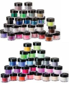 Image Is Loading Young Nails Imagination Nail Art Powders Glitter Pigment