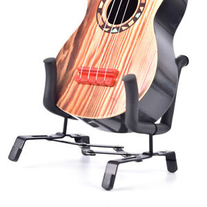 Ukulele-Portable-Foldable-Stand-Holder-for-Violin-Bass-Ukelele-Uke-Metal-Blac-YK