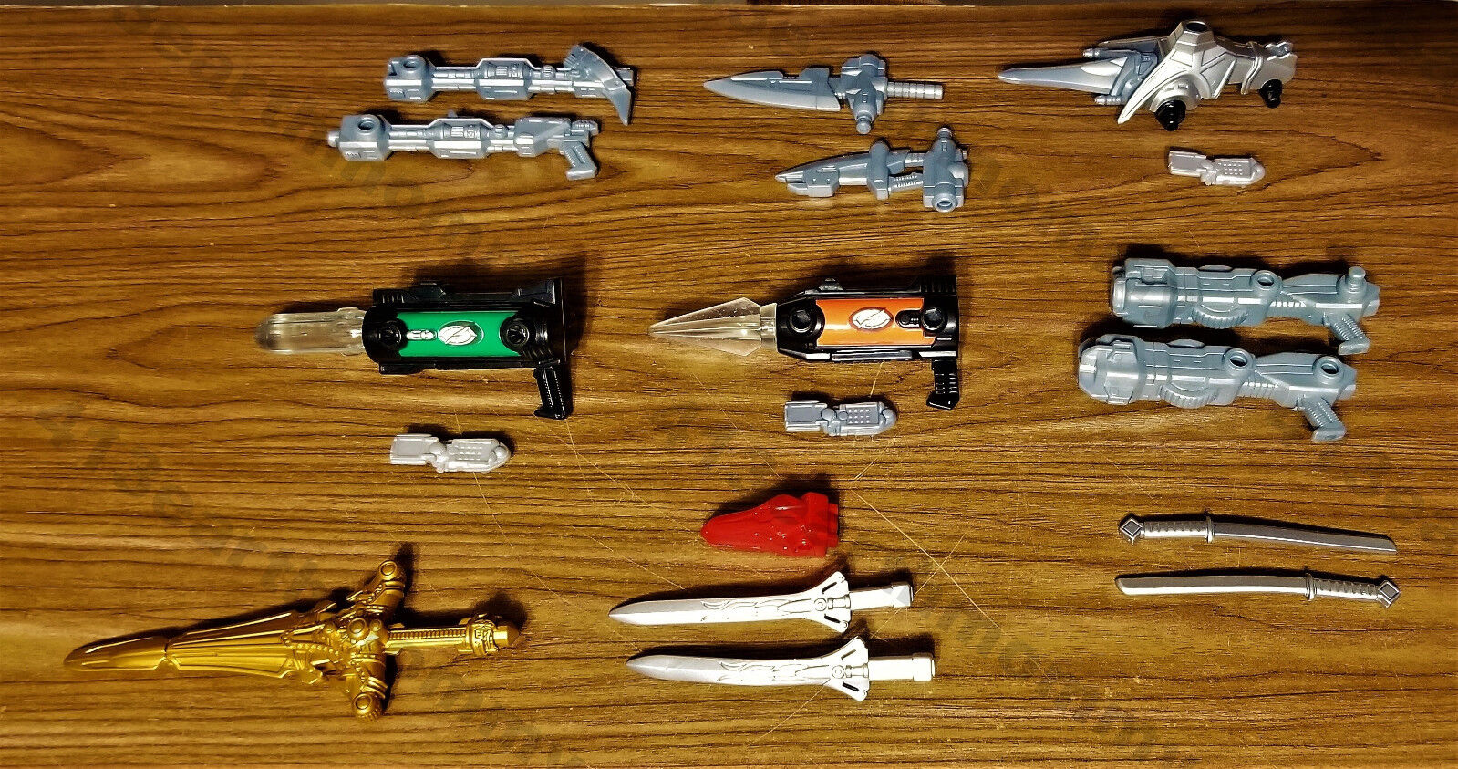 Power Rangers Operation Overdrive Mission Response  Complete Weapons Lot