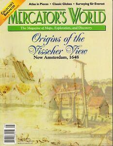 MERCATOR-039-S-WORLD-Magazine-Antique-Maps-Visscher-Redstone-Studios-Jigsaw-Puzzle