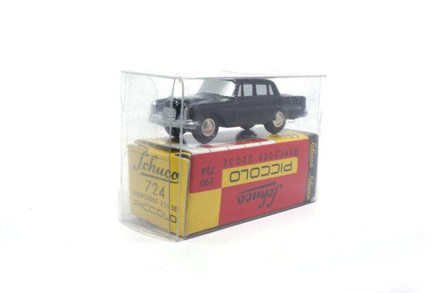 #01241 - Schuco Mercedes-Benz 220 SE - Schwarz - 1:90 (Piccolo)
