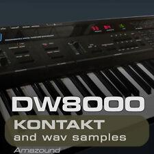 DW8000 for KONTAKT 425 .nki PATCHES 3426 WAV SAMPLES 24BIT HIGH QUALITY