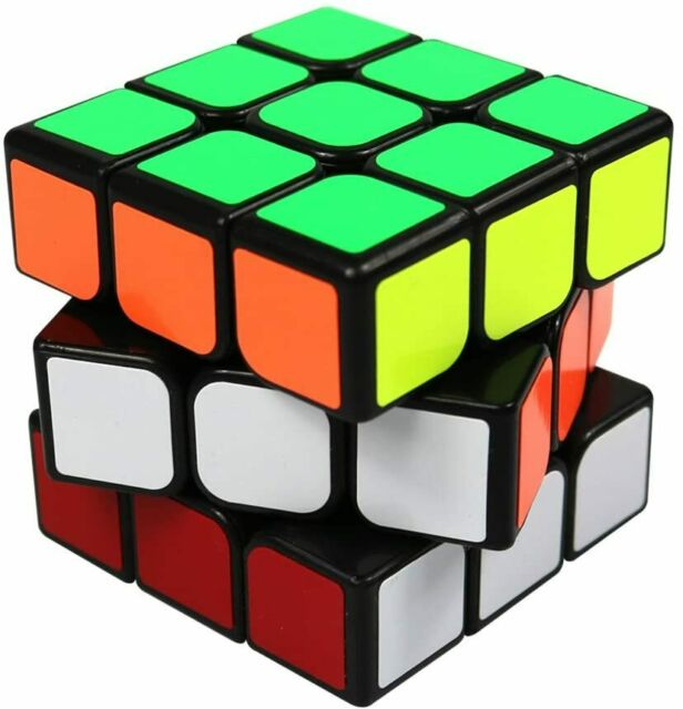 Rubik/'s Cube Professional Speed Cube 3x3x3  Smart Smooth Puzzle kids Toys UK