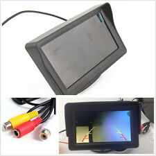 "Car SUV Monitor LED Night Vision Reversing 4.3"" HD 480x234 Video LCD TFT Display"