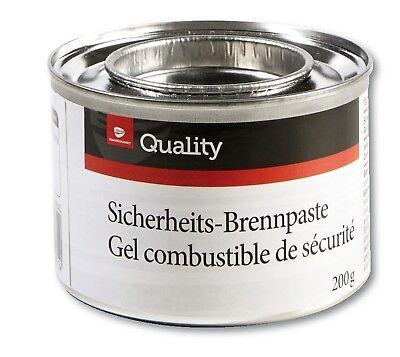 Sicherheitsbrennpaste Brennpaste 1 Dose=200 g Brenngel Chafing Dish Speisewärmer