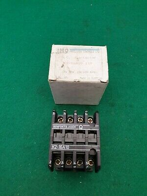 IMO Jager K2-16 A10 Contactor 110 Volt Coil 8.5Kw