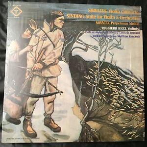 Louis-de-Froment-Matthias-Kuntzsch-QUADRAPHONIC-Lp-Vinyl-Record-Sibelius-Violin