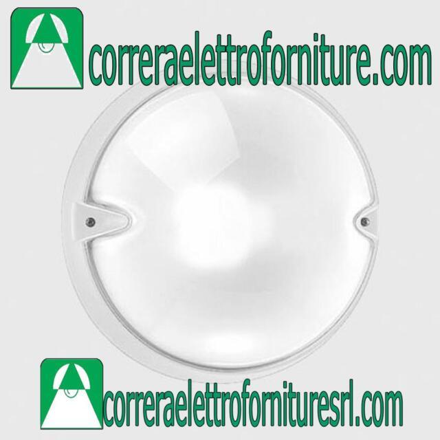 Plafoniera rotonda vetro parete esterno PRISMA CHIP 25 GRILL grigio E27 005748