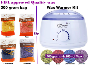 Wax-Warmer-Kit-or-Depilatory-Hard-Wax-Beans-Waxing-Pellet-Painless-Hair-Removal