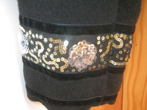 Paraphrase misto perline con Smart effetto Paillettes M Nuovo Black 12 cotta in lana pqpBSWrZ