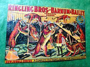 VINTAGE RINGLING BROS & BARNUM & BAILEY CIRCUS MAGNET - Lot#398