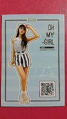 OH MY GIRL YOOA Official Photocard SUMMER STYLE Special Album LISTEN TO ME 유아