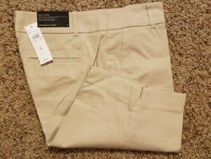 Ann Taylor 8 beige Pantaloncini taglia costiero Nwt da passeggio 1wnxqZBO