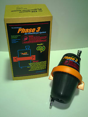 Dryer AP120 Phase 3 Clean Contaminated Compressed air!!! Air Filter