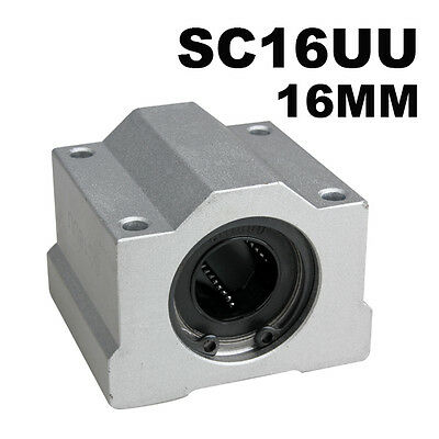 1 Pc 16mm SC16UU Linear Motion Ball Bear Bearing Ball Slider Slide Bush Bushing