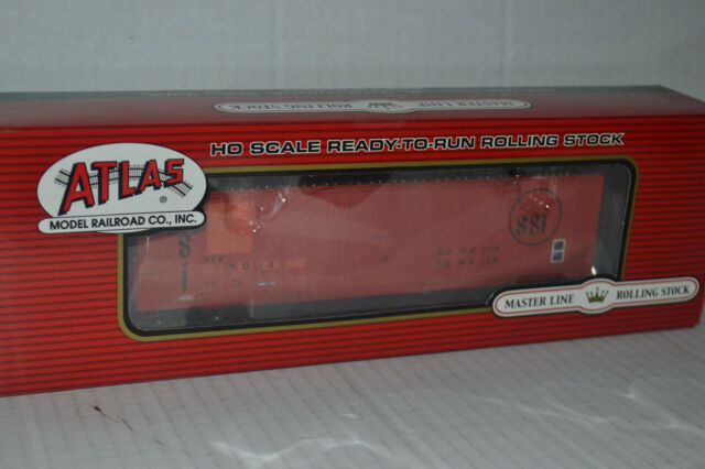 Atlas Atlantic & Western FMC 5077 Single Door Box Car Ho Scale 20001539