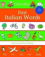 Oxford First Italian Words 400+ Words, Paperback