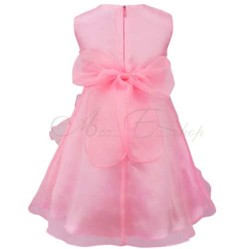 Girl Baby Princess Flower Birthday Formal Party Prom Bridesmaid Flower Kid Dress
