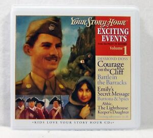 NEW-Exciting-Events-Volume-1-Your-Story-Hour-Audio-Drama-3-CD-Set-YSH-Collection