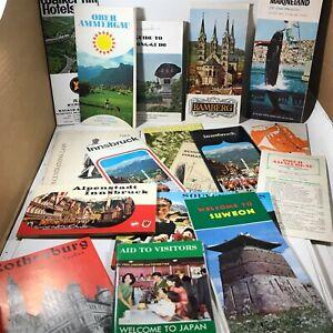 Lot of 15 Vintage Travel Guides Maps Tirol Innsbruck Gyeong-gi Do