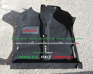 FIAT-PANDA-4x4-SISLEY-TAPPETO-INTERNO-PREFORMATO-MOQUETTE-MOULDED-CARPET