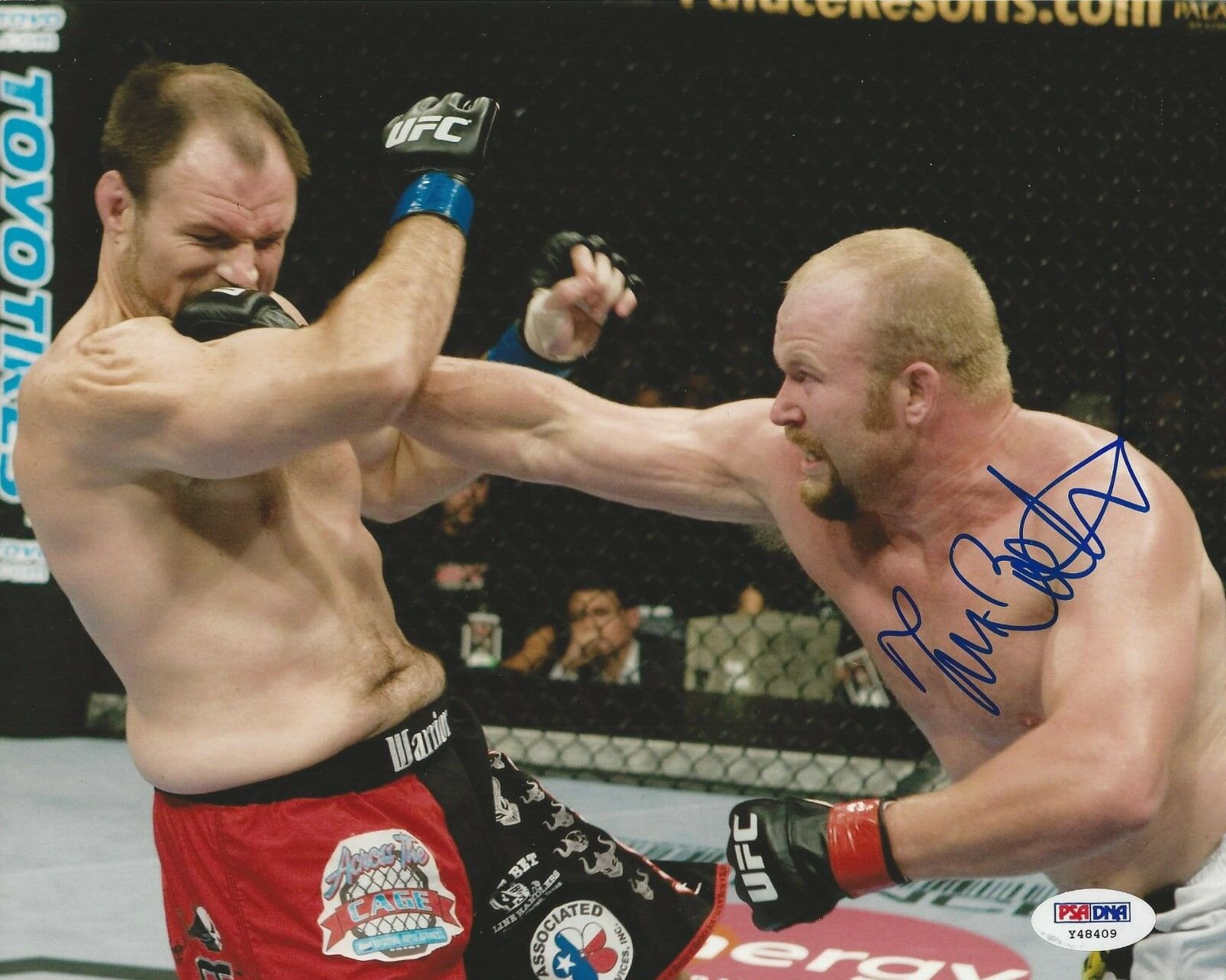 Tim Boetsch UFC Fighter signed 8x10 photo PSA/DNA # Y48409