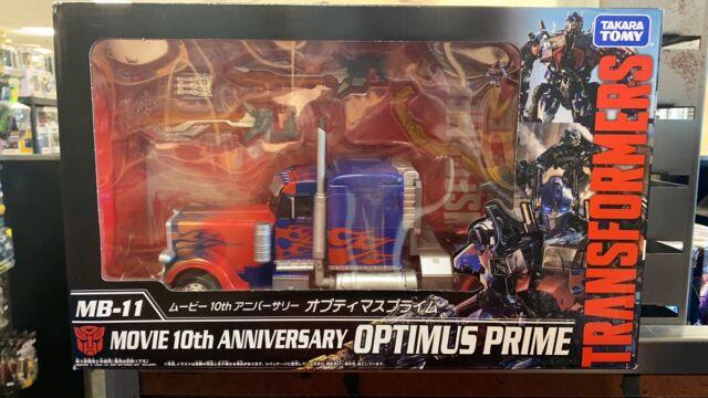 Takara Tomy Transformers MB-11 Movie 10th Anniversary Optimus Prime Figure