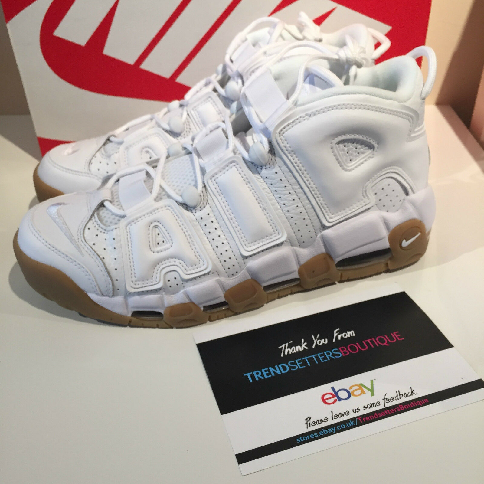 NIKE AIR MORE UPTEMPO blanc US8 8.5 414962-103 9 9.5 11 12 414962-103 8.5 GUM SIZE SCOTTIE 8766f3