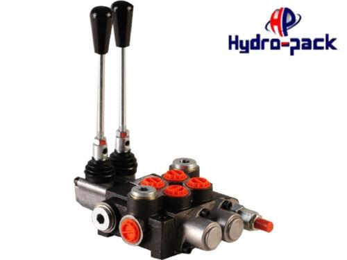 Hydraulikventil Handsteuerventil Monoblock 40L 2 DW 1 Schwimmstelllung