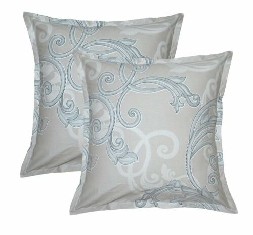 Aiking Home 26x26 Inches Cotton Euro shams set of 2 Pillow Covers