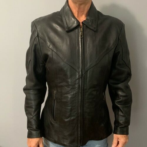 Women's Mega Force Leather Jacket