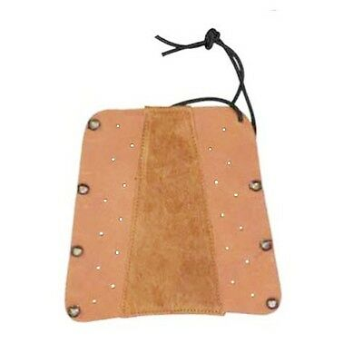 Shooting Arm Guard made with fine Leather & Suede Archery Products.AG207.