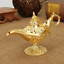Traditional Hollow Out Fairy Tale Aladdin Magic Lamp Wishing Tea Pot Genie Lamp