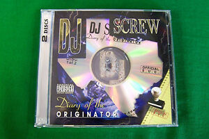 DJ-Screw-Chapter-260-Bar-It-4-What-039-96-Texas-Rap-2-CD-Set-Piranha-Records