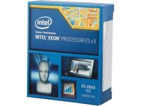 Intel Xeon E5-2603 V3 Haswell 1.6 Ghz Lga 2011-3 85w Bx80644e52603v3 Server Proc on sale