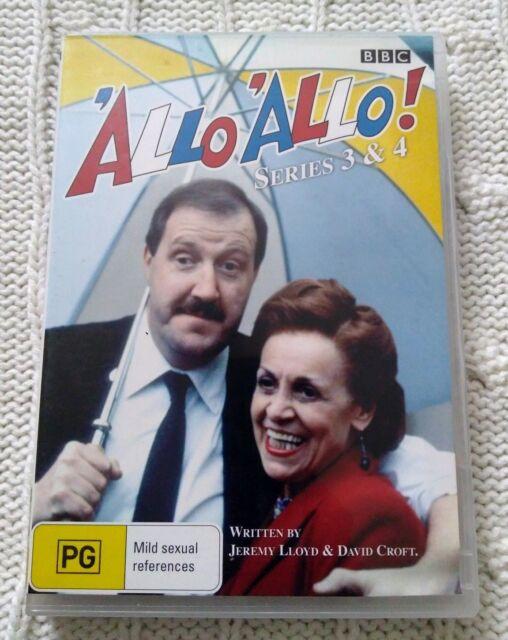 'Allo 'Allo! : Series 3-4 (DVD, 2006) R-4, LIKE NEW, FREE POST IN AUSTRALIA
