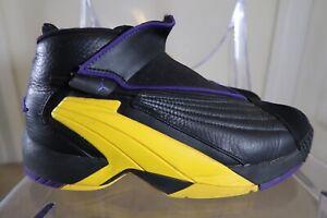 Nike Jordan Jumpman Swift Lakers Purple sz 8.5 AT2555-007 Kobe Eddie Jones PE