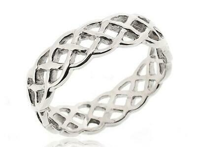 Women Stack Twist Rope Thumb Ring For Women 925 Sterling