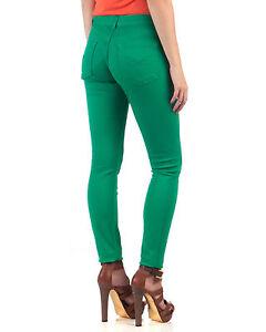 6f6e15051 TED BAKER Paris Women s Green Super Skinny CUBBA Denim Jeans ~ 25W x ...