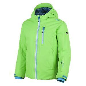 CMP Skijacke Snowboardjacke grün wasserabweisend ClimaProtect® warm