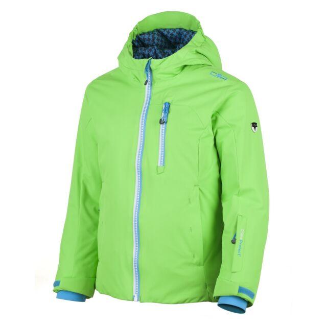 attraktive Designs offizieller Preis bester Preis CMP Skijacke Snowboardjacke grün wasserabweisend ClimaProtect® warm
