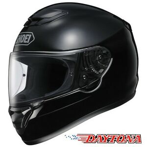 Shoei-Qwest-NEGRO-BRILLANTE-Casco-De-Motocicleta