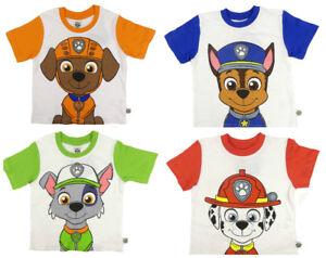 Image Is Loading Paw Patrol T Shirts Marshall Chase Zuma Or
