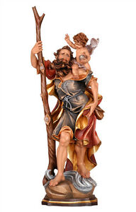 Saint-Christopher-statues-bois-carved