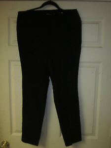 dritto Size 14 Torrid 1r Nero a Deluxe Pantalone coste 16 Stretch 0df60q