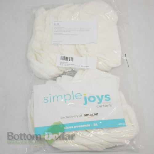 Simple Joys By Carter/'s Baby /& Toddler Unisex 12Pk Ankle Socks
